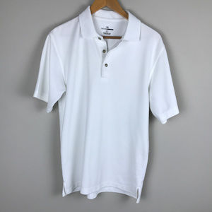 White GrandSlam Golf Polo shirt Sz M